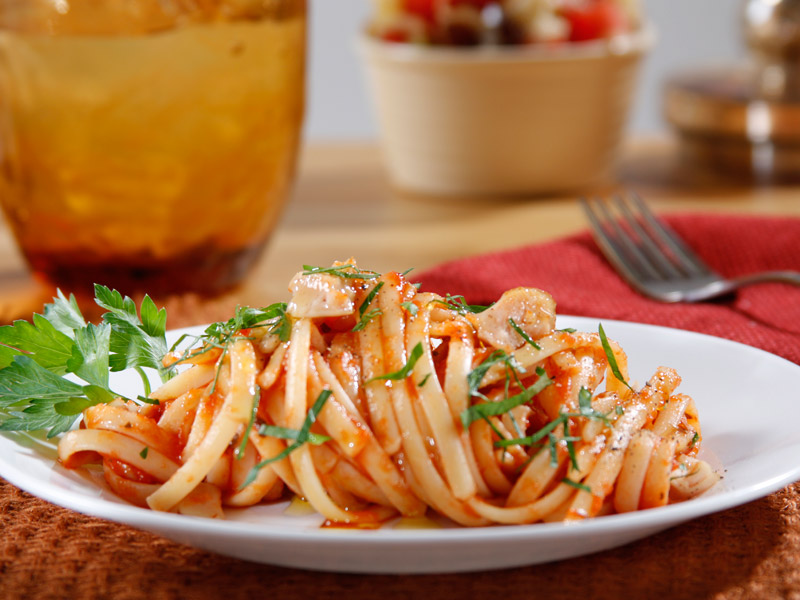 Barilla linguine with clams