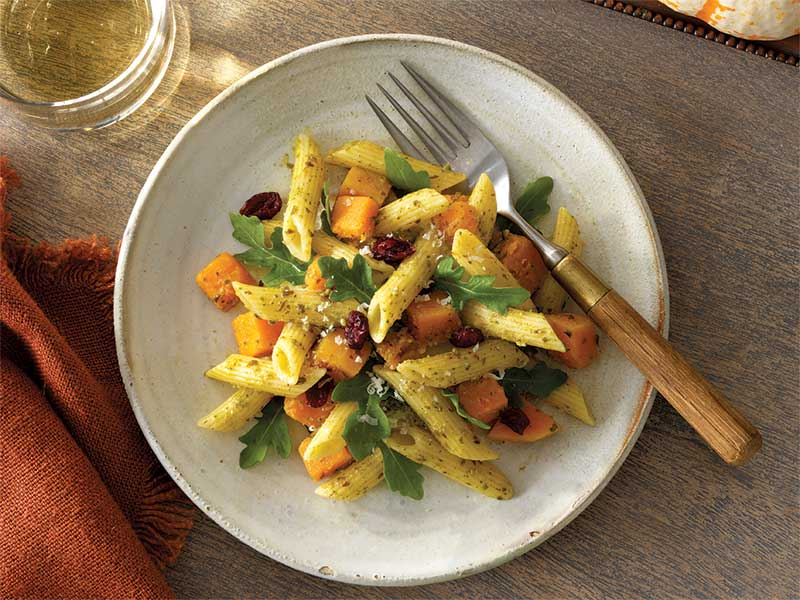 Harvest Penne Pesto Salad recipe