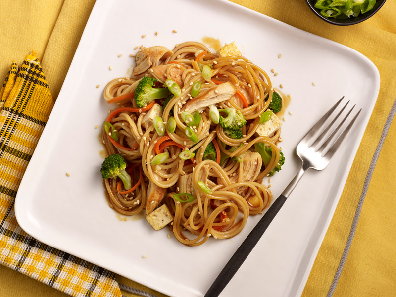 barilla spaghetti vegetable stir fry
