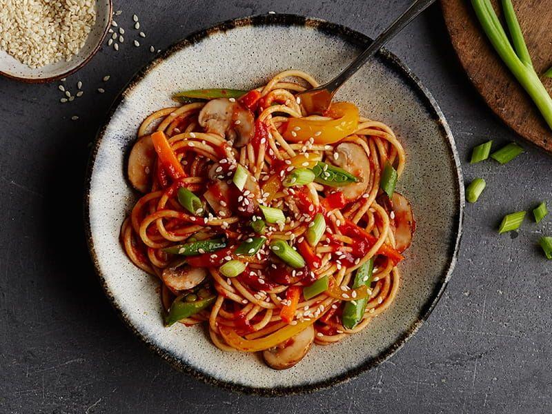 Spicy Sriracha pasta recipe