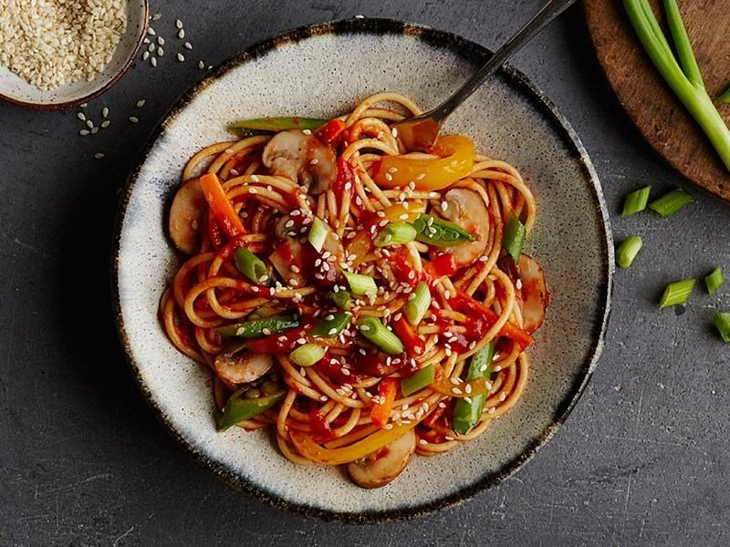 Spicy Sriracha pasta recipe