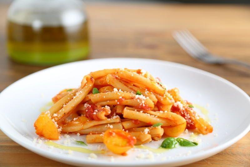 Collezione casarecce with calabrian chili sauce