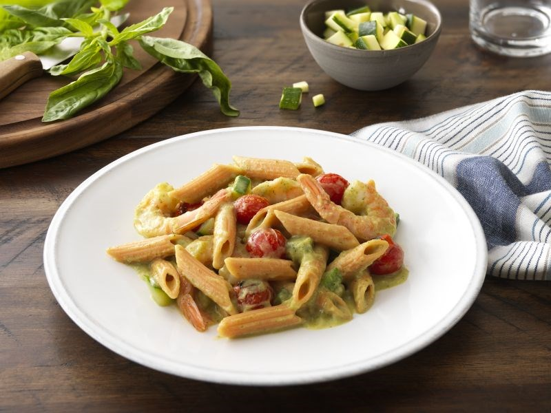 Barilla Red Lentil Penne with Shrimp Recipe
