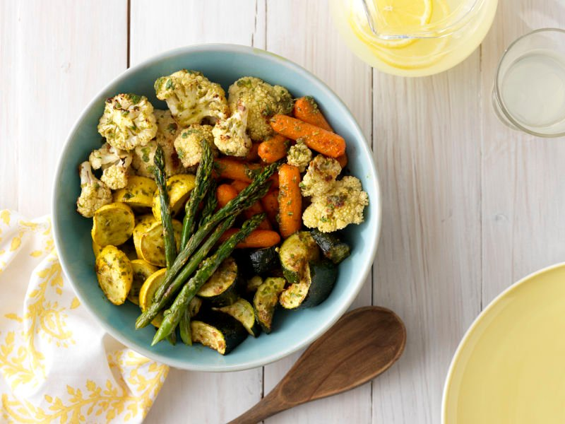 Barilla Pesto with Grilled Veggies