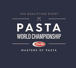 pasta world championship logo blue
