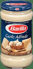Salsa garlic alfredo