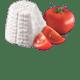 Tomaatti Ricotta  Grana Padano  ja Pecorino juusto