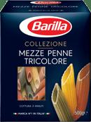Mezza penne tricolori