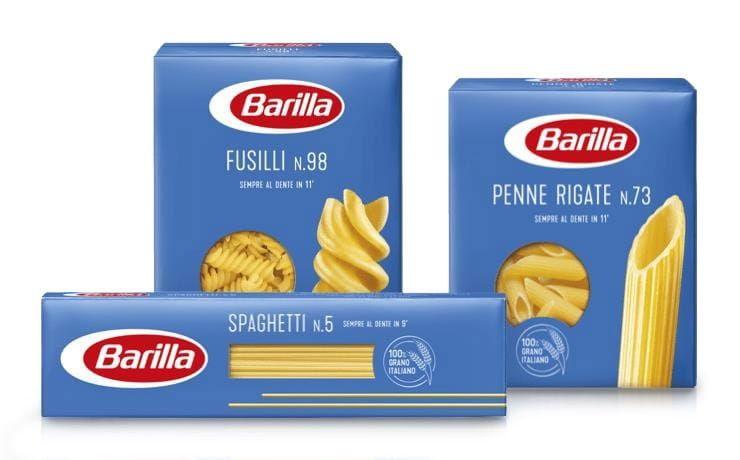 Concorso Azzurro Barilla ricettario - Nuova pasta