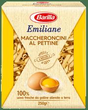 Maccheroncini al pettine all uovo