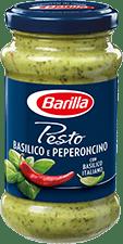 Barilla Pesto Basilico Peperoncino 195 g