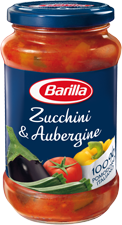 Zucchini and Aubergine