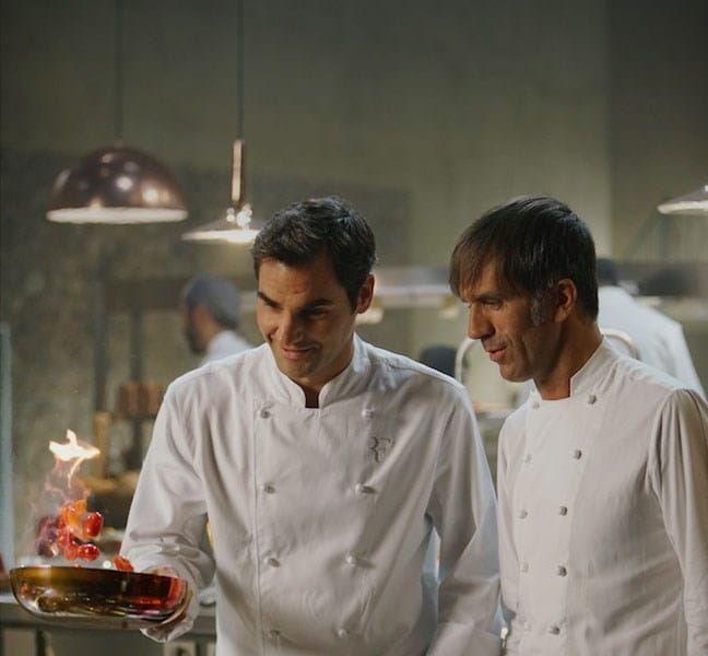 Card Federer and Oldani