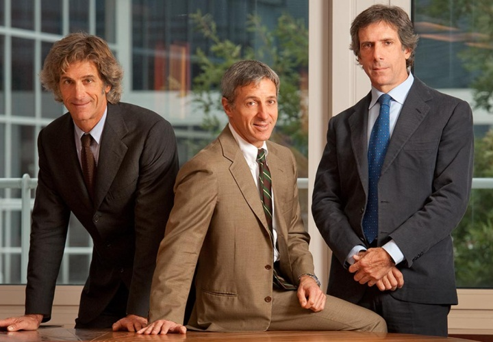 Гвидо, Лука и Паоло во главе компании