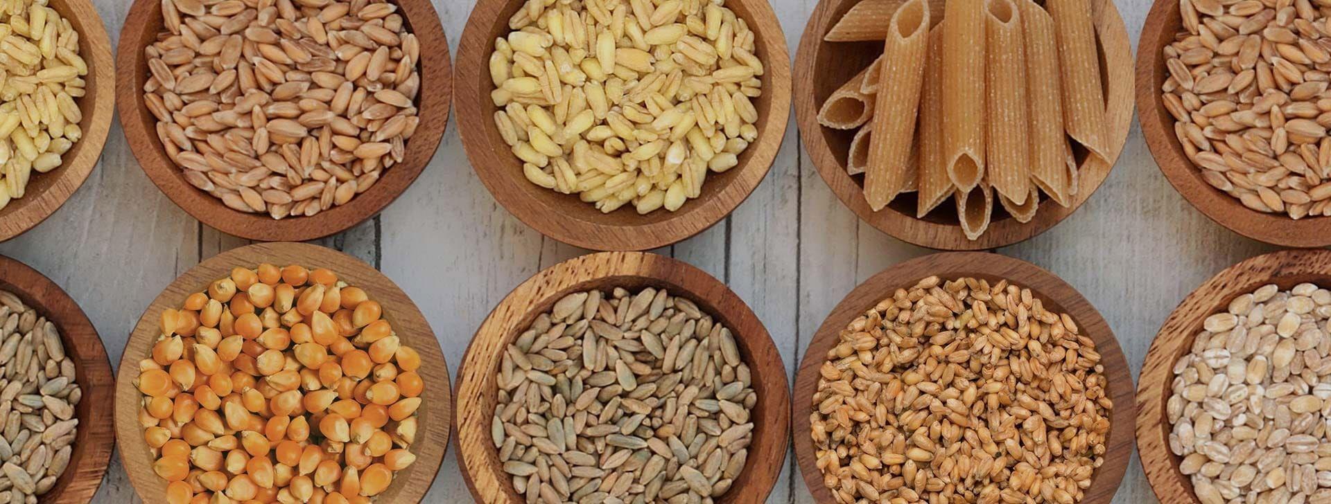 Testenine od pet vrsta žitarica