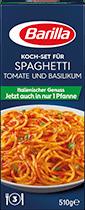 Koch-Set für Spaghetti mit Tomate und Basilikum