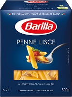 Classic Blue Box Penne Lisce Pasta