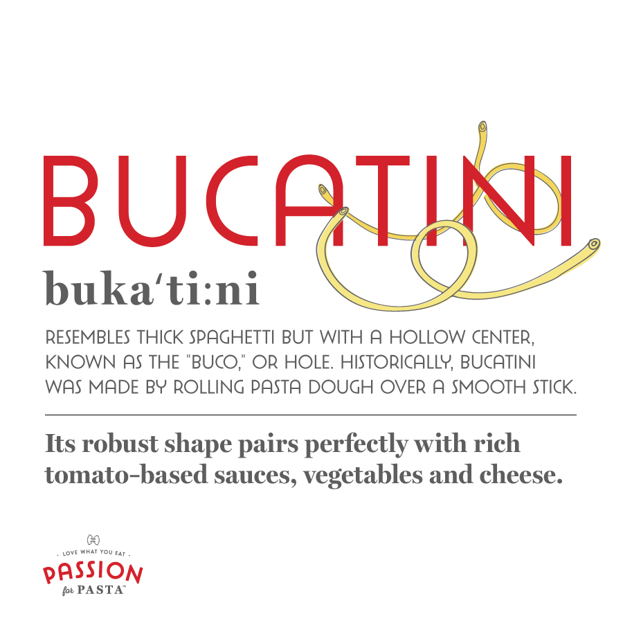 Bucatini Pasta Graphic