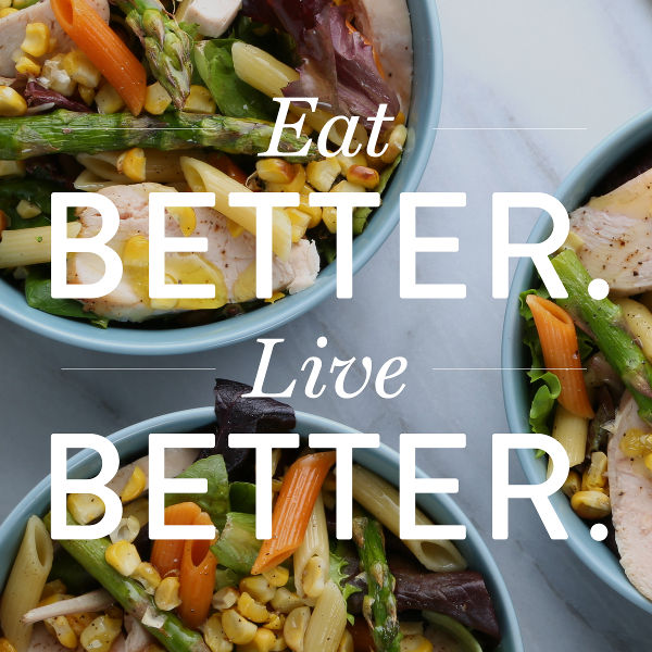 Eat Better and Live Better... with Pasta