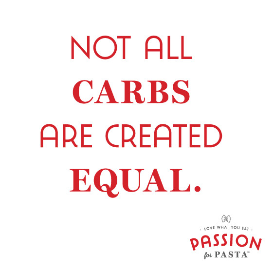 Better Carbohydrates in Pasta