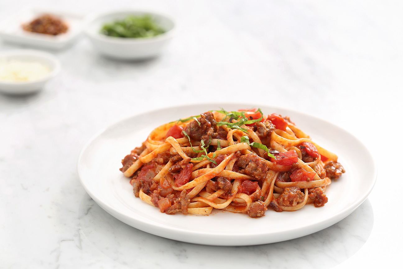 Linguine and Truth Sauce Inspired by Paul Pierce