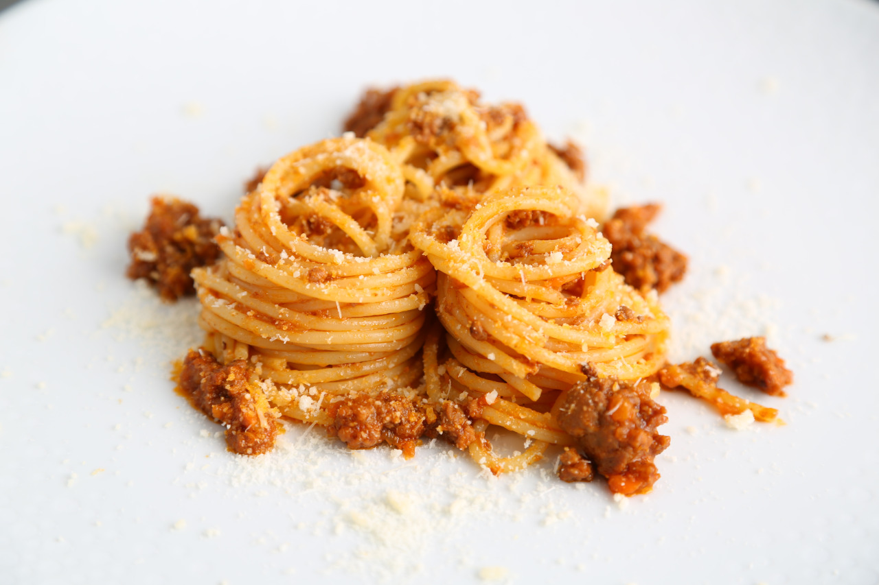 Spaghetti Recipe with Bolognese Sauce