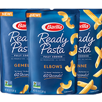 ready pasta packages