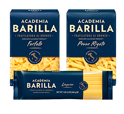 Academia Barilla variety of packages