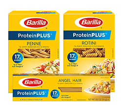 Barilla ProteinPLUS pasta package