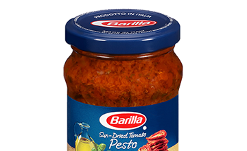 Sun-dried Tomato Pesto jar