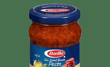Sun-dried Tomato Pesto jar