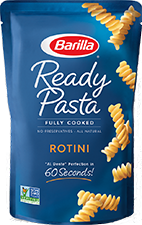 Ready Pasta rotini new label removed