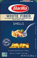 Barilla White Fiber Shells Pasta