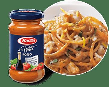 Barilla Pesto Rosso umak s rajčicom.