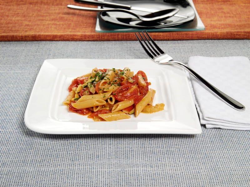 Pennette rigate integrali con zucchine melanzane e for Ricette barilla