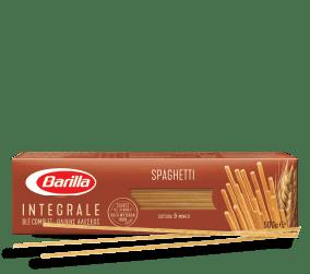 Polnozrnati špageti Barilla v embalaži. Najboljša izbira.