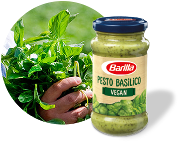 Pesto Basilico vegan omaka Barilla.