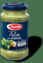 Pesto genovese Barilla omaka iz bazilike.