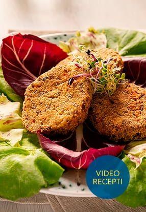 Vegetarijanski burger z Pesto Genovese Barilla