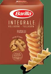 Integralna tjestenina, fusilli barilla u pakiranju. Najbolji izbor.