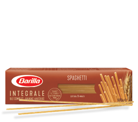 Integralna tjestenina, Integralni špageti Barilla u pakiranju. Najbolji izbor.