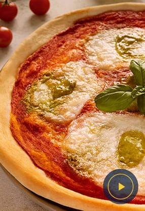 Pizza al Pesto Genovese